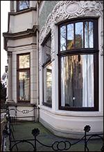 Historisches Fenster nachgerüstet mit Dichtungen