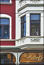 Denkmalschutz gilt auch für Fenster und Türen