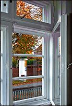 Alte Kastenfenster nachgerüstet mit neuen Dichtungen