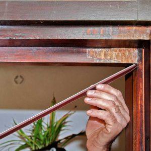 Terrassentür | Hebe-Senk-Tür abdichten