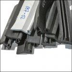 Mittelrahmendichtung und Zargendichtungen für Kunststofffenster und Fenster aus Metall