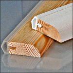 Mit der Zargo-Leiste Altbautüren abdichten | Holzleisten mit Dichtung