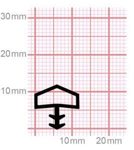 Holzzargendichtung für Zimmertüren | 009-10