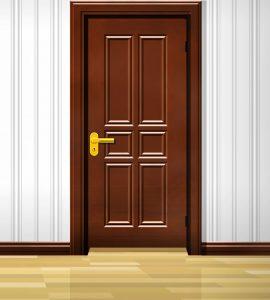 Zugluftprobleme - ein Spalt unterhalb der Zimmertür