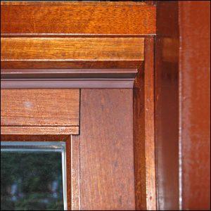 Balkontür, Hebe-Senktür fertig abgedichtet - Zargo L19