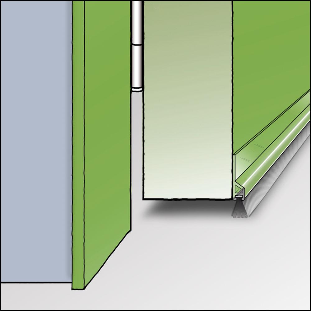zargo b transparente kunststoffleiste zum kleben