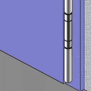 Athmer-Fingerschutz - Scharnierseite, Nebenschließkante