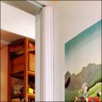 Klemmschutz an Tür in Kinder-Krippe