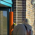 Klemmschutz an der Tür in rot - Kita-Max