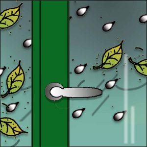 Fenster + Türen rechtzeig abdichten