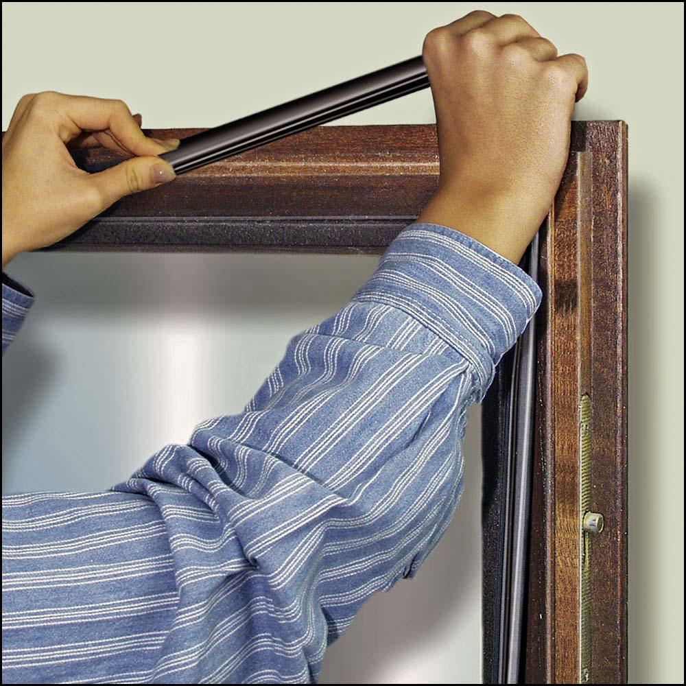 Fensterabdichtung - Mahagonifenster selbst abdichten