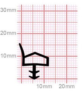 Holzzargendichtung für Zimmertüren | 009-11